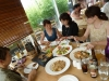 Déjeuner à la table Naturelle