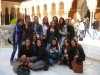 la cour des lions de l'Alhambra