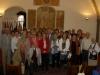 Le groupe à la réception à la Mairie de Perugia
