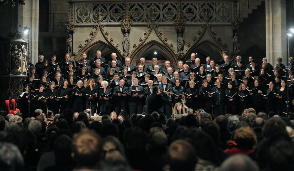 Choeur Bach Tübingen - Stiftskirche ; Weihnachtsoratorium; Bachcohr Tuebingen
