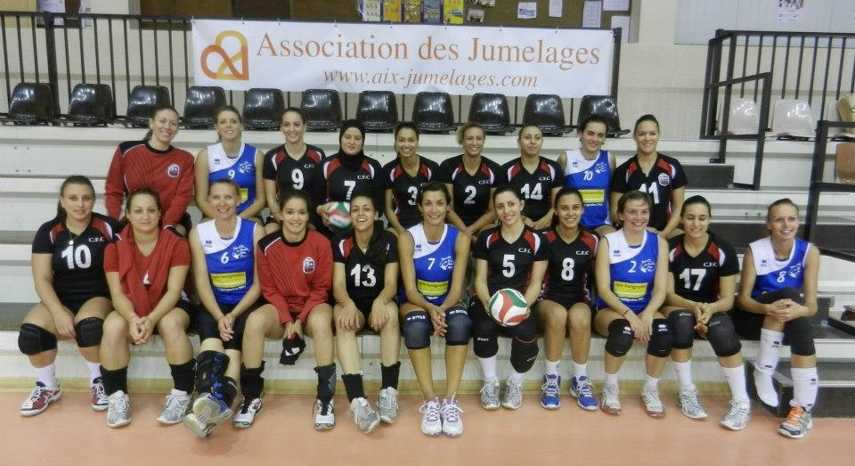 volley ball Carthage à Aix