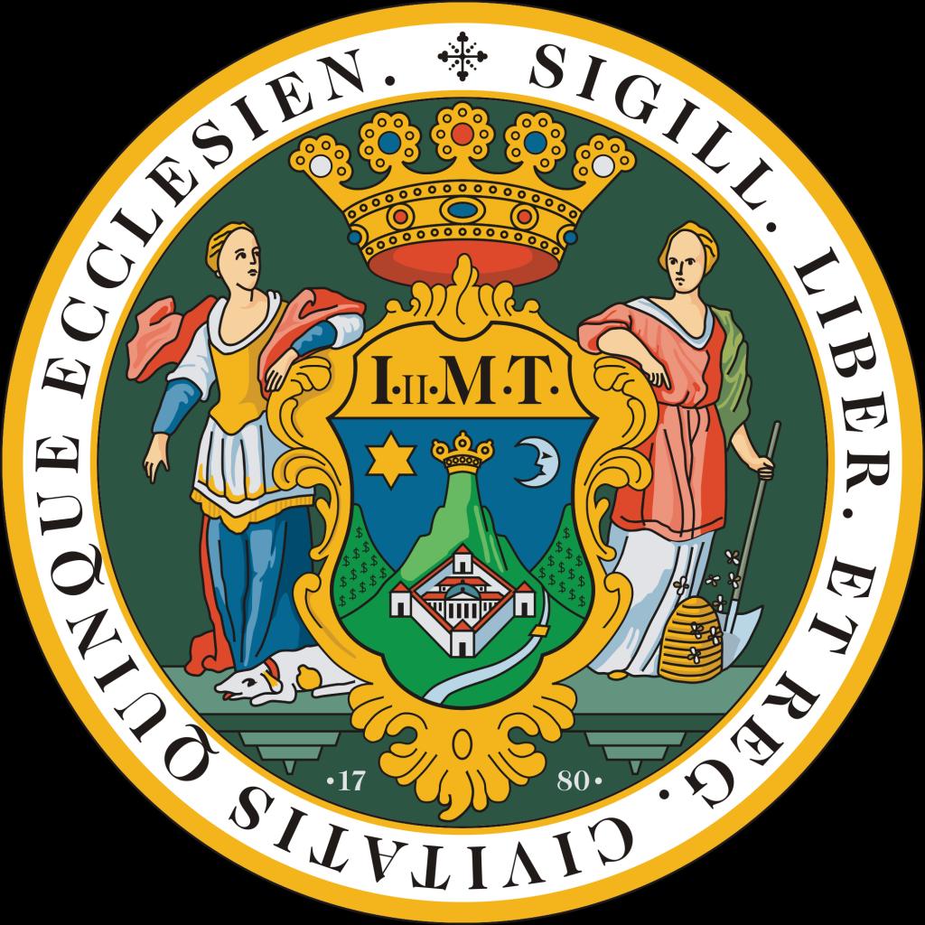 Blason de Pécs
