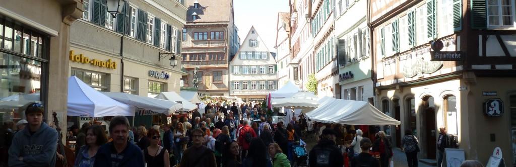 Marché Ombro-Provençal de Tübingen Septembre 2012