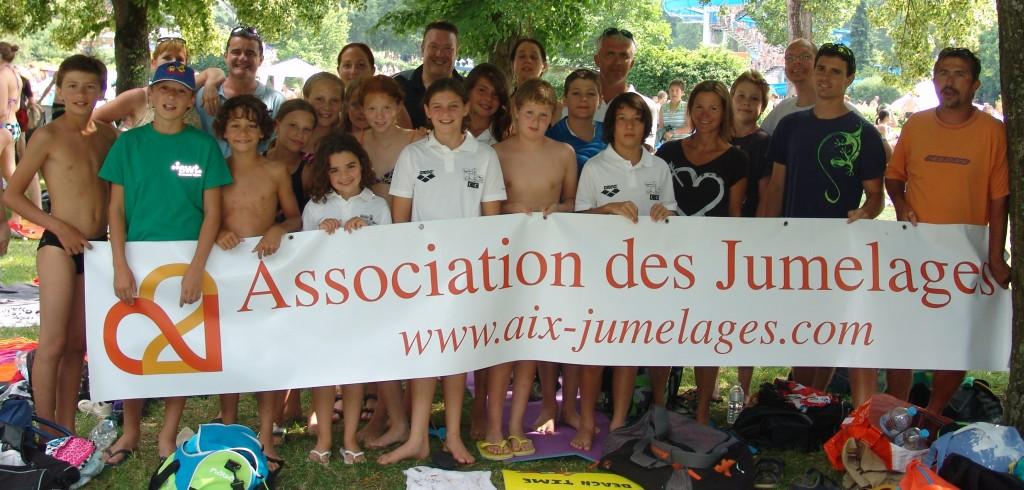 compétition de natation Allemagne Juillet 2012