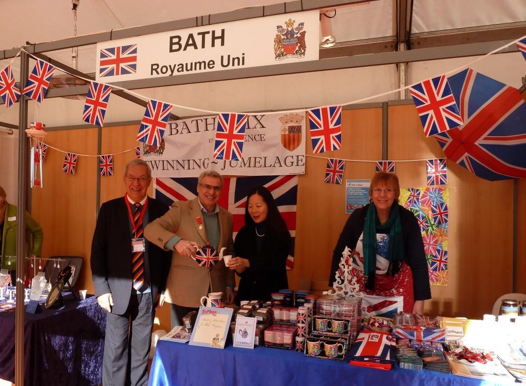 Andrew Furse, Maire de Bath au marché des villes jumelles 2012