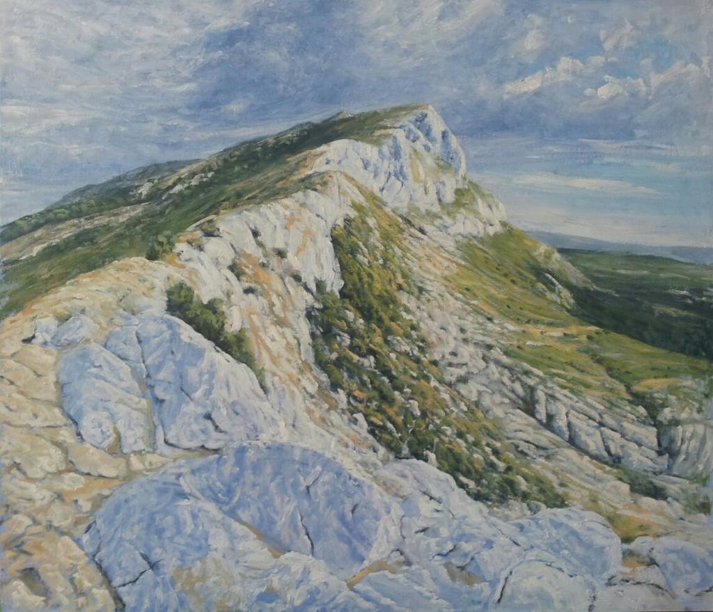 peinture Ben Hughes St Victoire