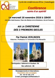 affiche_conférence_Aix la Chrétienne