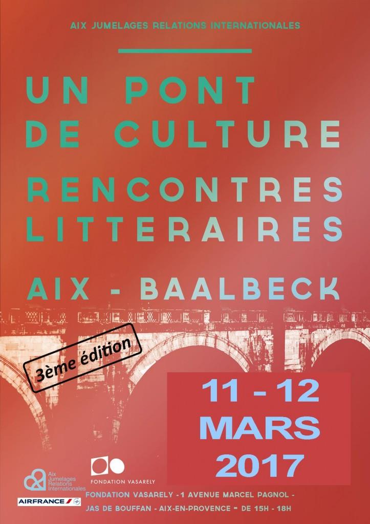 Affiche_Un Pont de Culture_11 et 12 mars 2017