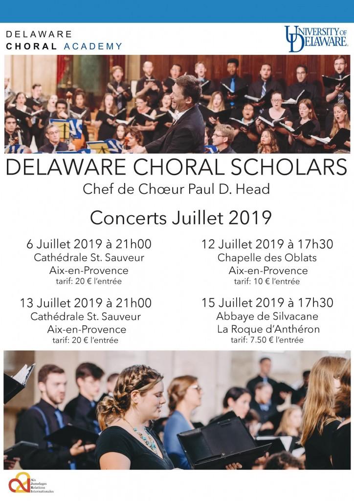 Affiche concerts_ Université du Delaware