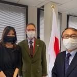2021-03-03_Aix_Kumamoto_Rencontre Officielle avec le Consul Général du Japon à Marseille_M.Murata