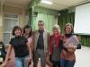 avec le directeur du lycéee et nos collègues