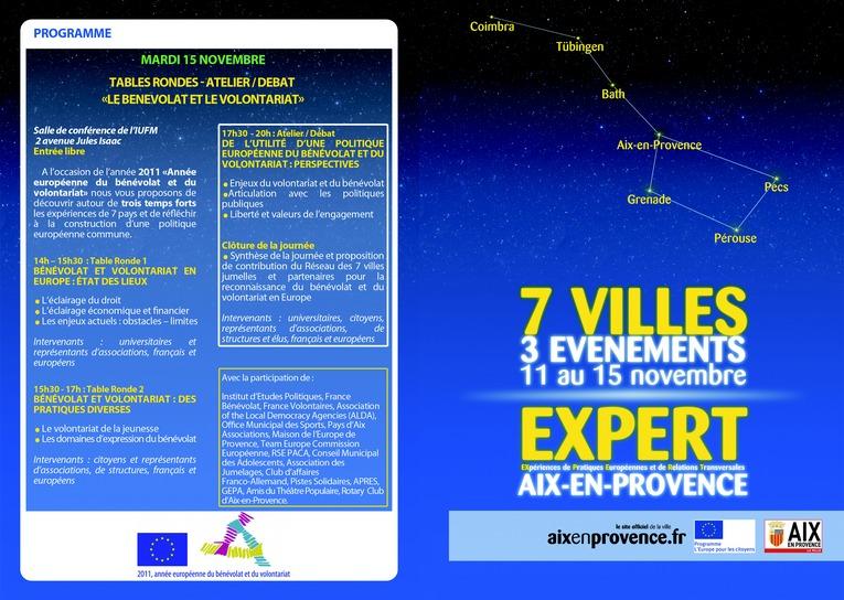 PROGRAMME_EUROPE-RECTO Expert, nov 2011