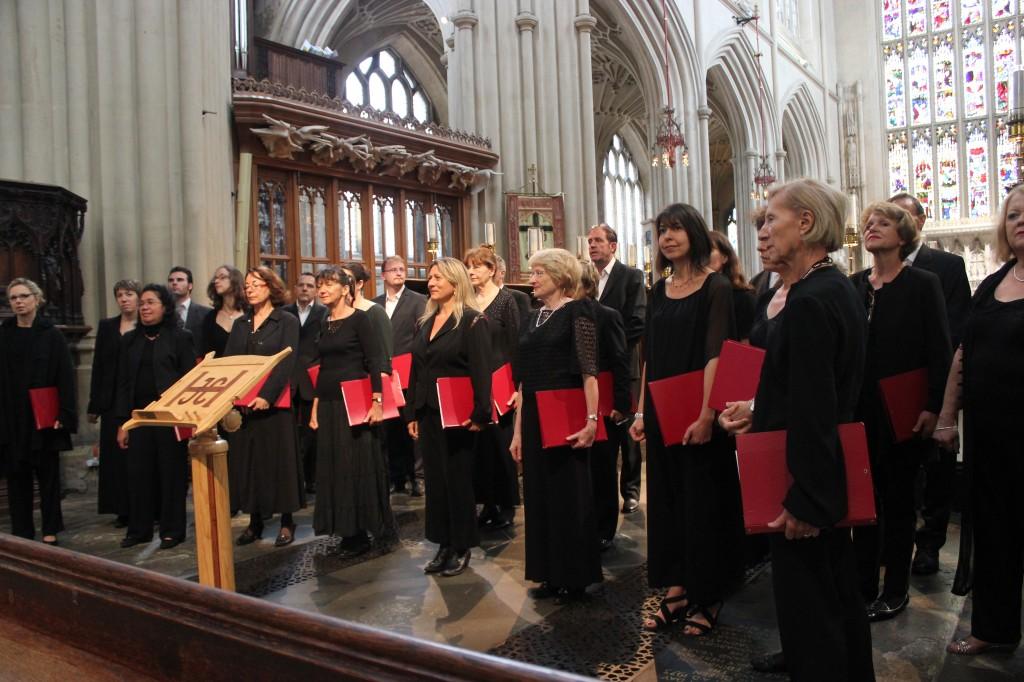 chorale Schola à Bath