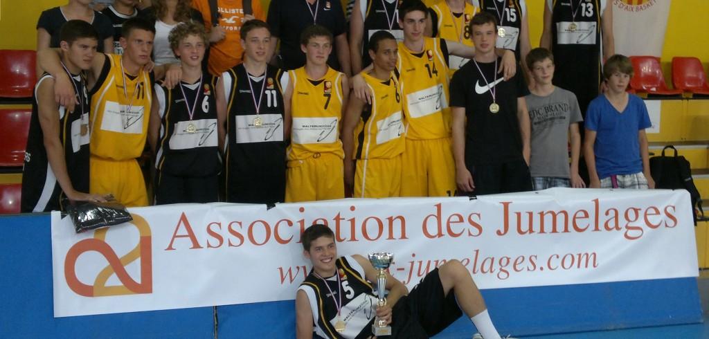 Basket ASPTT Juin 2012 avec Tûbingen