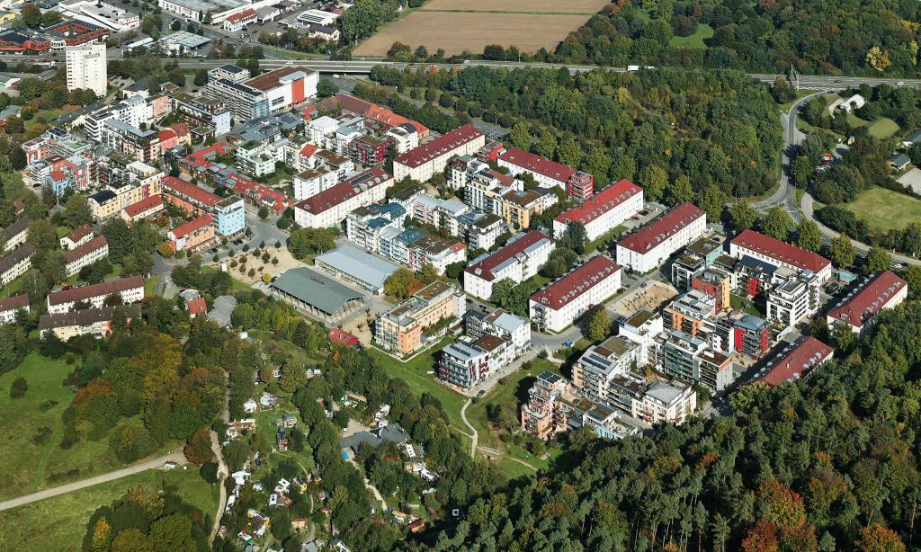 Le quartier français de Tübingen