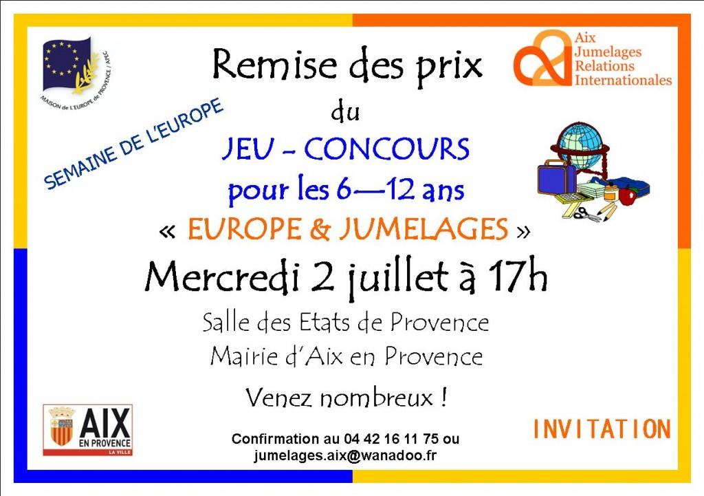 Semaine Europe_invitation remise des prix_2014 2
