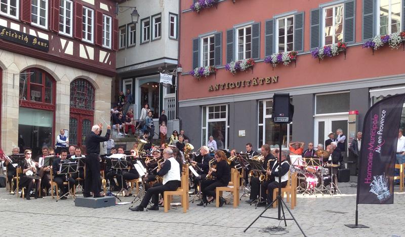 concert place Mairie Tübingen