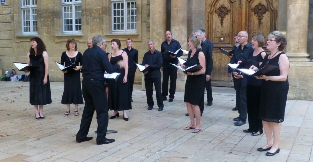 Musique dans la rue Bath Choir