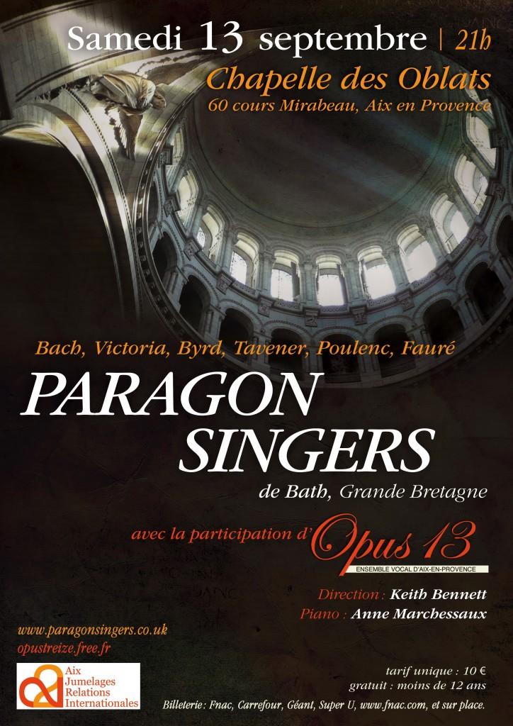 Paragon singers Bath